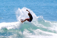 Surfers at Topanga State Beach 08.27.2014